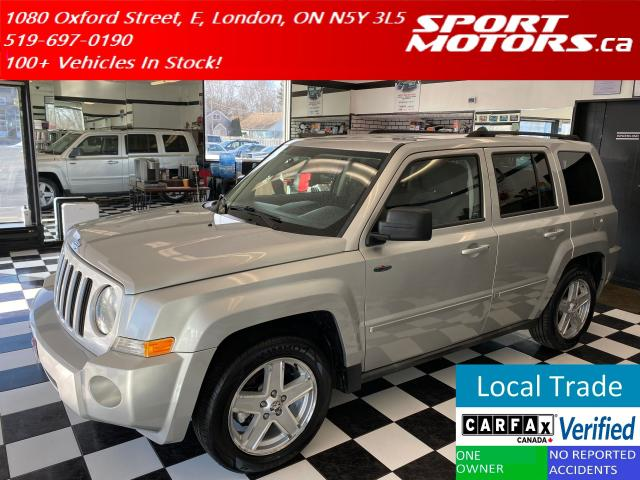 2010 Jeep Patriot Sport+NewTires+Remote Start+HTD Seat+Accident Free