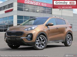 New 2020 Kia Sportage EX AWD|PANO SUNROOF|SAFETY TECH|APPLE CARPLAY for sale in Grimsby, ON