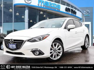 Used 2015 Mazda MAZDA3 GT ONE OWNER | NAVIGATION | HEATED SEATS for sale in Mississauga, ON