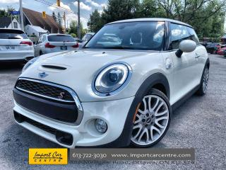 Used 2016 MINI 3 Door Cooper S LEATHER  DUAL ROOF  NAVI  HUD  BACKUP CAM for sale in Ottawa, ON