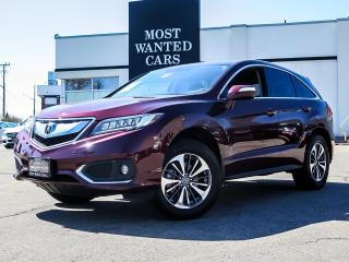 Used 2018 Acura RDX ELITE PACKAGE|BLIND|LDW|ACC|COOLED|NAV|CAMERA|CW|SENSORS for sale in Kitchener, ON