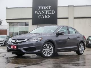 Used 2017 Acura ILX TECH PLUS|CTA|LDW|ACC|LKA|BLIND|CAM|MEMORY LEATHER for sale in Kitchener, ON