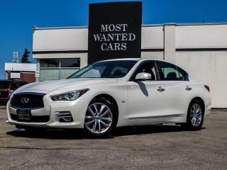 Used 2017 Infiniti Q50 3.0t Premium AWD|NAVIGATION|CAMERA|ROOF|BOSE|XENON for sale in Kitchener, ON