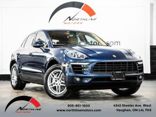 Used 2015 Porsche Macan S Backup Camera Heated Front Rear Seats Pwr Tailgate for sale in Vaughan, ON
