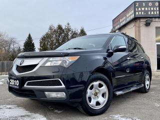 Used 2010 Acura MDX AWD for sale in Scarborough, ON