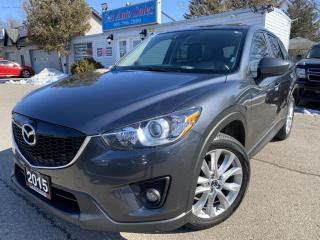 Used 2015 Mazda CX-5 AWD 4dr Auto GT ACCIDENT FREE, ONE OWNER, NAVI, BACK UP for sale in Brampton, ON