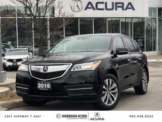 Used 2016 Acura MDX Tech for sale in Markham, ON