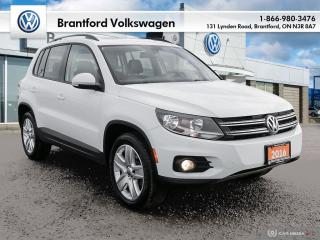 Used 2016 Volkswagen Tiguan Comfortline 2.0T 6sp at w/Tip 4M for sale in Brantford, ON
