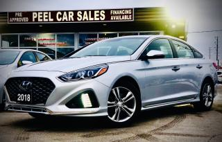 Used 2018 Hyundai Sonata Sport| CERTIFIED| SUNROOF | LEATHER | REARVIEW| for sale in Mississauga, ON