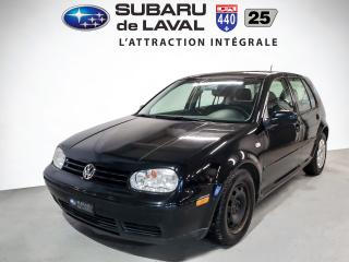 Used 2007 Volkswagen City Golf Hayon 4 portes, boîte manuelle, 2,0 for sale in Laval, QC
