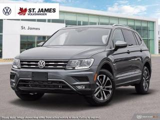 New 2020 Volkswagen Tiguan IQ Drive *** DEMO *** for sale in Winnipeg, MB