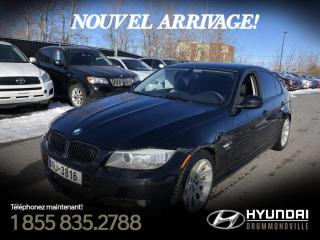 Used 2011 BMW 328 X-DRIVE + GARANTIE + NAVI + TOIT + MAGS for sale in Drummondville, QC