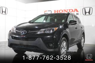 Used 2015 Toyota RAV4 LE + CAMERA + SIEGES CHAUFF. + WOW! for sale in St-Basile-le-Grand, QC