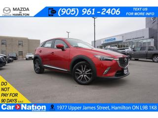 Used 2016 Mazda CX-3 GT | LEATHERETTE | NAV | SUNROOF | BOSE | AWD for sale in Hamilton, ON