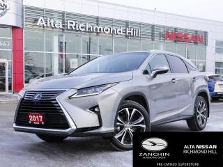 Used 2017 Lexus RX 450h for sale in Richmond Hill, ON
