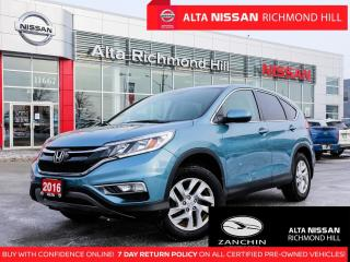 Used 2016 Honda CR-V EX   Back-UP   Lane Watch   PWR Sears   17 Alloys for sale in Richmond Hill, ON