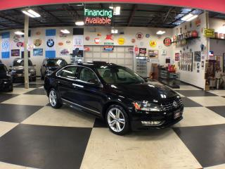Used 2015 Volkswagen Passat 1.8 TSI HIGHLINE AUT0 NAVI LEATHER SUNROOF CAMERA for sale in North York, ON