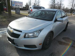 Used 2011 Chevrolet Cruze LT Turbo w/1SA clean NO ACCIDENTS+FREE 6M warranty for sale in Ajax, ON