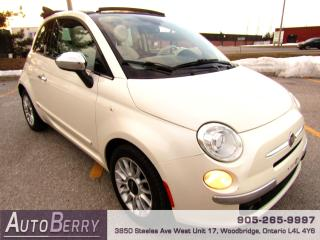 Used 2012 Fiat 500 LOUNGE Convertible for sale in Woodbridge, ON