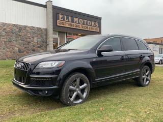 Used 2015 Audi Q7 3.0L TDI Vorsprung Edition | S-line | for sale in North York, ON