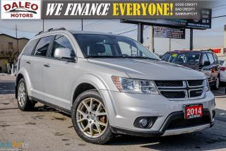 Used 2014 Dodge Journey R/T | 7 PASS | AWD | V6 | DVD | NAVI | LEATHER ++ for sale in Hamilton, ON