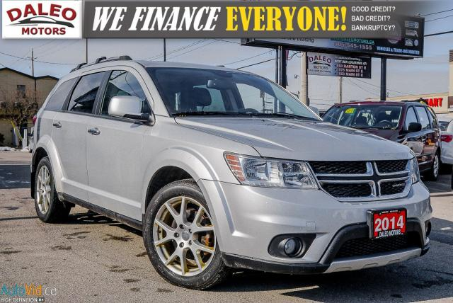 2014 Dodge Journey R/T | 7 PASS | AWD | V6 | DVD | NAVI | LEATHER ++