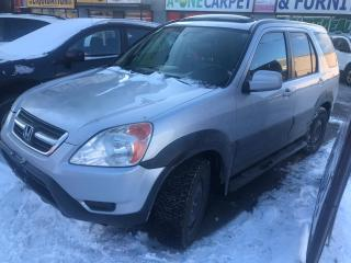 Used 2002 Honda CR-V EXL for sale in Scarborough, ON