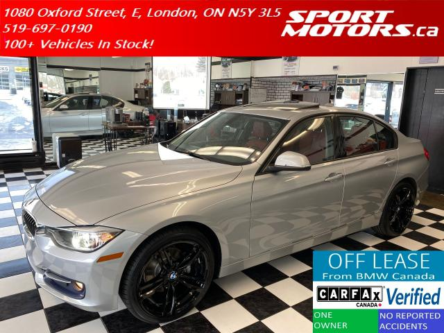 2015 BMW 3 Series 320i xDrive+Xenons+Red Leather+GPS+Accident Free