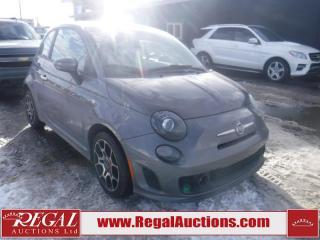 Used 2013 Fiat 500 SPORT TURBO 2D HATCHBACK FWD for sale in Calgary, AB