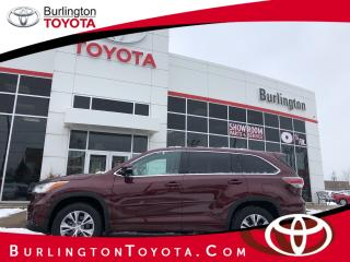 Used 2015 Toyota Highlander LE for sale in Burlington, ON