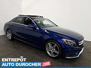 Used 2017 Mercedes-Benz C-Class C 300 AWD NAVIGATION - Toit Ouvrant - A/C - CUIR for sale in Laval, QC
