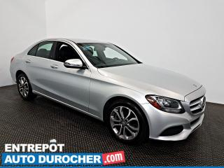 Used 2016 Mercedes-Benz C-Class C 300 AWD Automatique - A/C - Sièges Chauffants for sale in Laval, QC