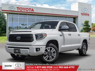 New 2020 Toyota TUNDRA 4X4 CREWMAX SB PLATINUM LE20 for sale in Whitby, ON