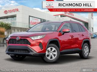New 2020 Toyota RAV4 LE AWD  - Heated Seats - $105.05 /Wk for sale in Richmond Hill, ON