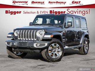 Used 2019 Jeep Wrangler Unlimited Sahara 4x4 l Nav l Htd Seats l Leather l for sale in Etobicoke, ON