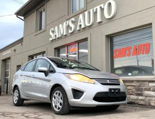 Used 2011 Ford Fiesta 4DR SDN S for sale in Hamilton, ON