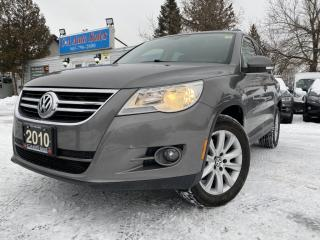Used 2010 Volkswagen Tiguan 4dr Auto 4Motion panoramic roof *leather*heatseats for sale in Brampton, ON