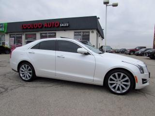 Used 2015 Cadillac ATS ATS4 2.0L Turbo Luxury AWD NAVI CAMERA CERTIFIED for sale in Milton, ON
