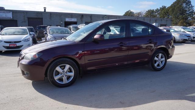 2008 Mazda MAZDA3 SPORT AUTO CERTIFIED 2YR WARRANTY *FREE ACCIDENT* ALLOYS CRUISE AUX