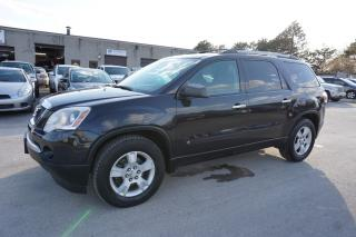 Used 2010 GMC Acadia SL 8 PSSNGRS CERTIFIED 2YR WARRANTY *1 OWNER* ALLOYS ENGINE R START CRUISE REAR TEMP CONTROL for sale in Milton, ON