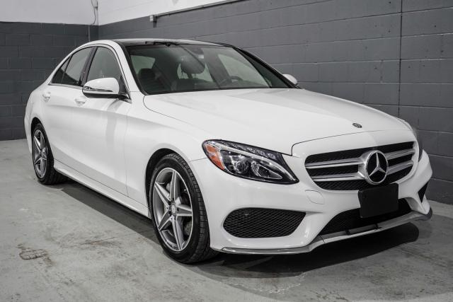 2017 Mercedes-Benz C-Class C300 4MATIC Sedan|AMG Package|AMG Spoke Wheels|LED Intelligent Lighting system|Blind Spot|NAV|PANO