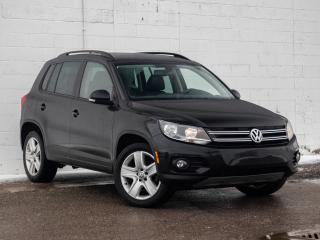 Used 2016 Volkswagen Tiguan S Comfortline, No Accidents, Leatherette, AWD for sale in St. Catharines, ON