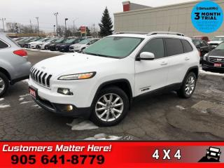 Used 2016 Jeep Cherokee Limited  V6 4X4 LEATH DUAL-ROOF NAV for sale in St. Catharines, ON