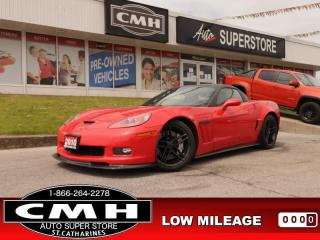 Used 2010 Chevrolet Corvette Grand Sport  6.2L436-HP 6-SPEED LEATH for sale in St. Catharines, ON