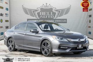 Used 2016 Honda Accord Sedan Sport, REAR CAM, B.SPOT CAM, SUNROOF, PUSH START for sale in Toronto, ON