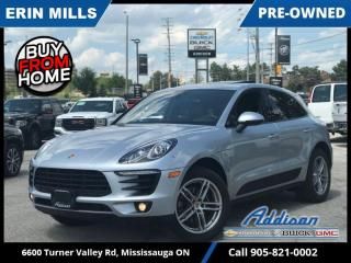 Used 2017 Porsche Macan NAVI|PANO ROOF|VENTED SEATS|PREMIUM| for sale in Mississauga, ON