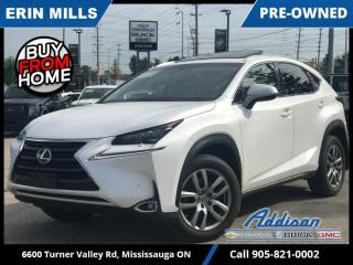 Used 2017 Lexus NX 200t 6A  NAVI|SUNROOF|BLIND SPOT|VENTED SEATS| for sale in Mississauga, ON