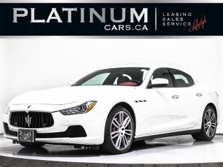 Used 2017 Maserati Ghibli S Q4 AWD, 3.0L V6, NAV, CAM, PUSH BUTTON for sale in Toronto, ON