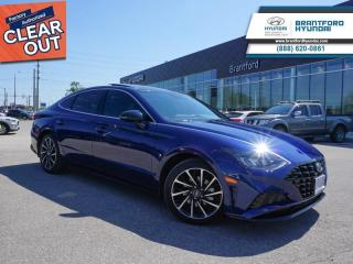 New 2020 Hyundai Sonata Sport  - Sunroof -  Dinamica Seats - $183 B/W for sale in Brantford, ON