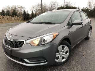 Used 2016 Kia Forte LX 2WD for sale in Cayuga, ON